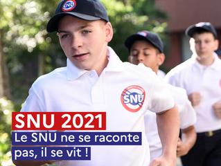 JEUNESSE - Le Service National Universel recrute