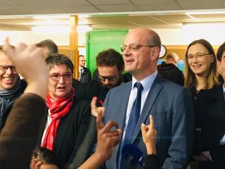 DOUBS - Le Ministre de l'éducation en visite sur le territoire