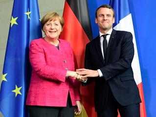 EUROPE : Emmanuel Macron et Angela Merkel annoncent un plan de 500 milliards d'euros