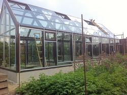 Алюминиевый зимний сад - теплица