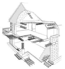 Армокаркасы в строительстве домов