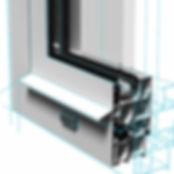 Алюминиевый оконный профиль