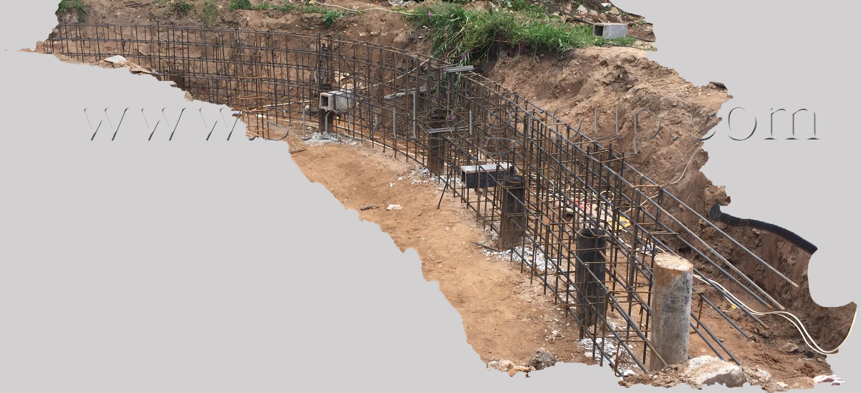 Подготовка к бетонным работам