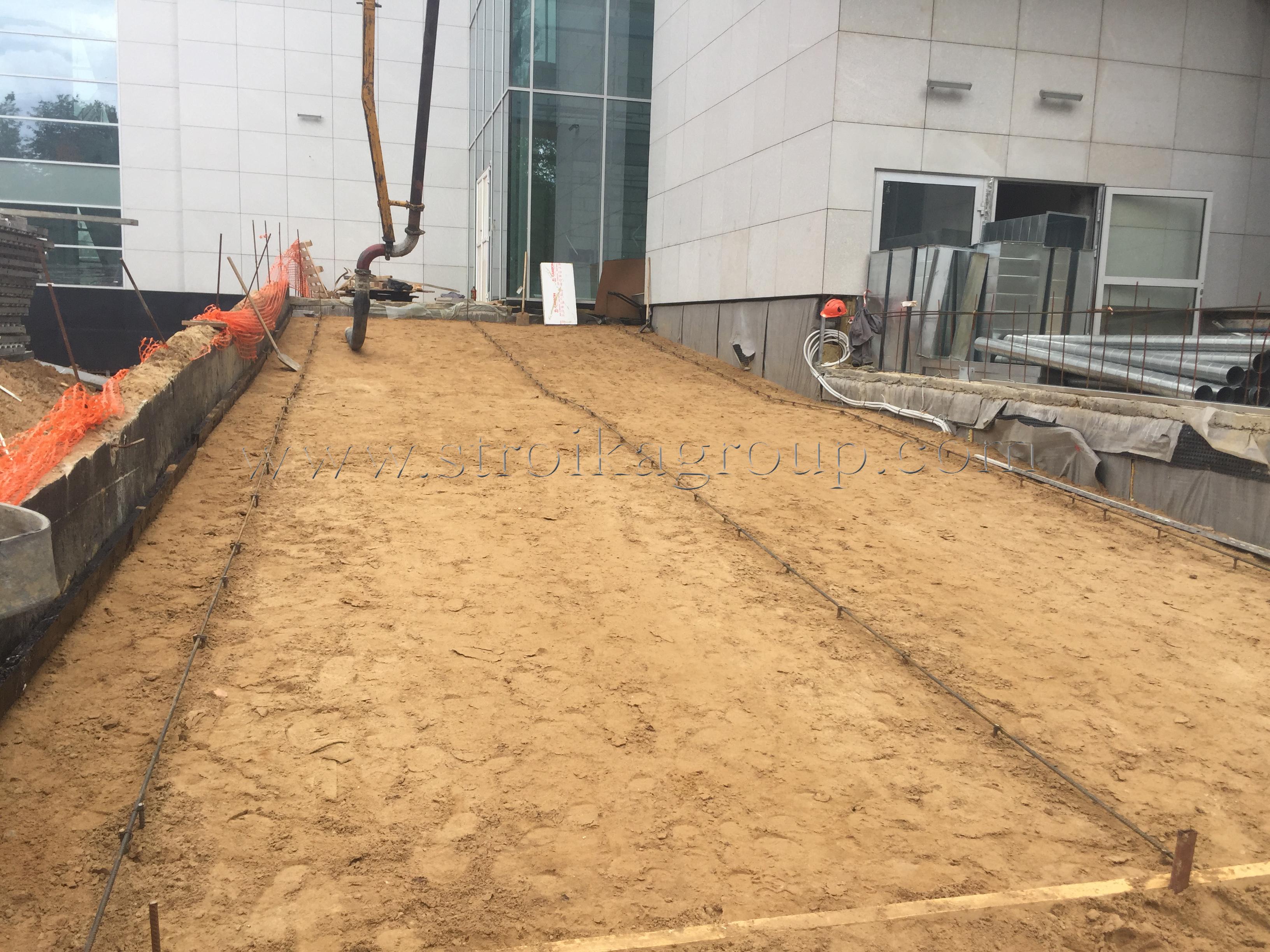 Подготовка под бетонные работы