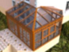 Эскизный проект Зимнего сада