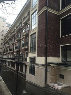 Фасадное остекление апартаментов.
