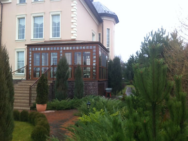 Зимний сад пристройка к дому