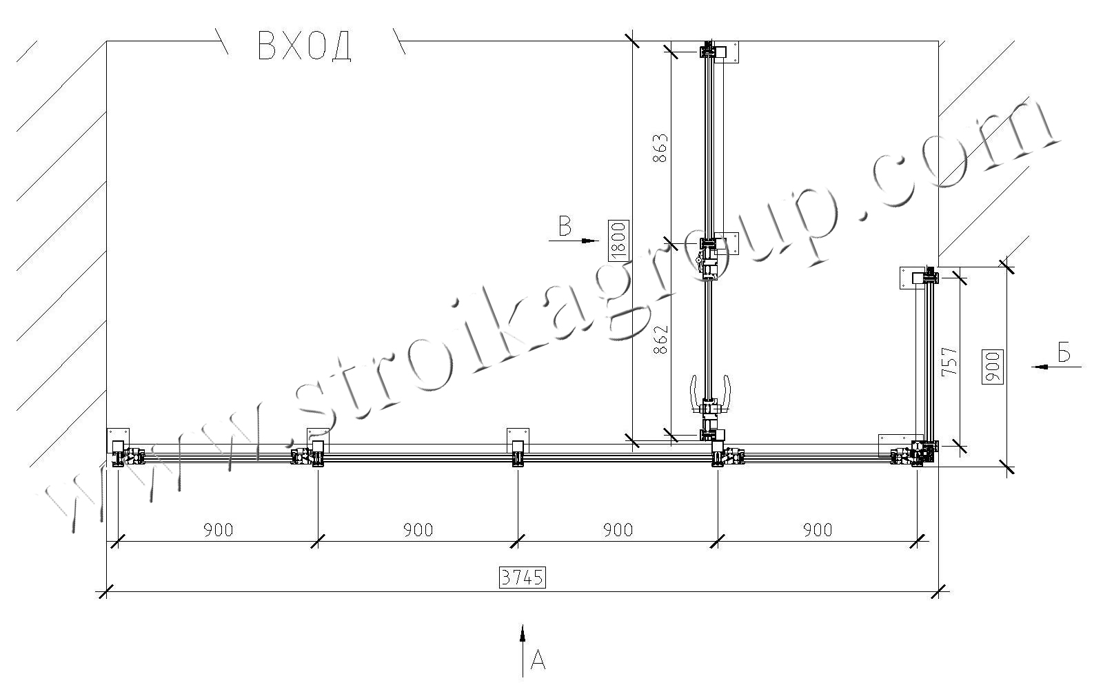 Проект остекления балкона.