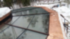 обогреваемые стеклопакеты в конструкции зенитного фонаря