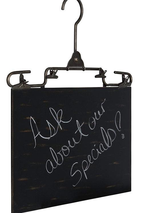 Zucker Chalkboard