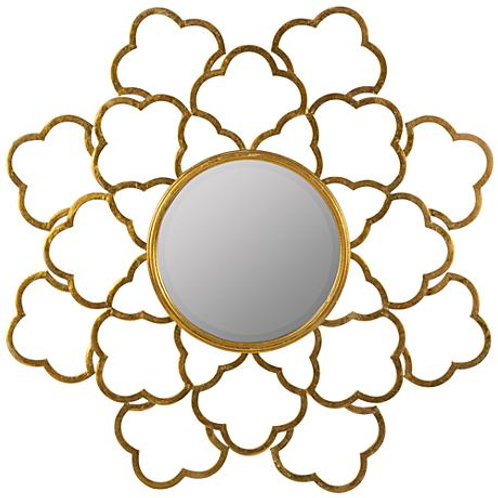 Kehoe Shimmering Gold Mirror