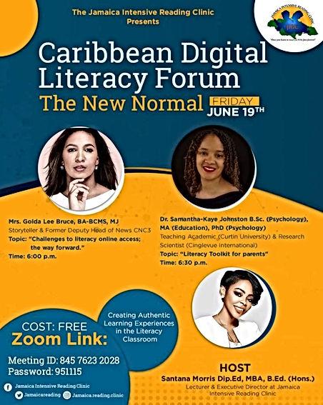 Caribbean Digital Literacy Forum 2020