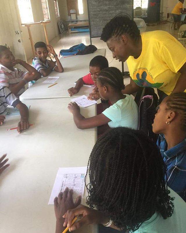Team Oracabessa #jamaicaintensivereadingclinic