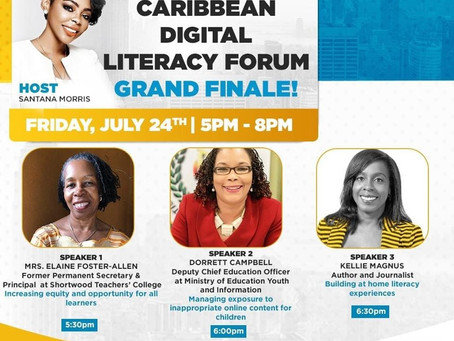 Caribbean Digital Literacy Forum-Grand Finale