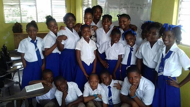 Our ambassador visited  Mel Nathan Preparatory School to speak about the importance of Literacy.jpg