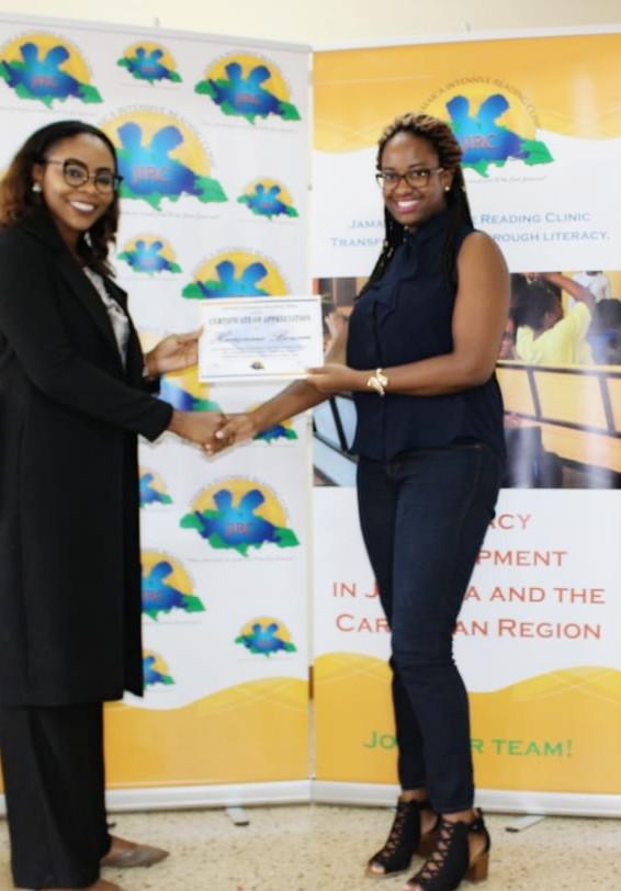 Santana Morris & Jamaica Intensive Reading Clinic