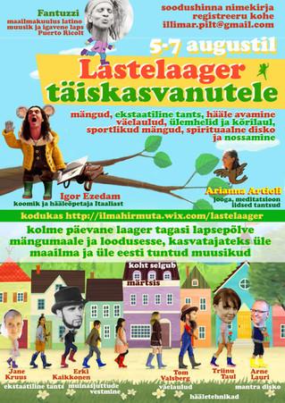 5-7. augustil toimub Lastelaager Täiskasvanutele Fantuzziga