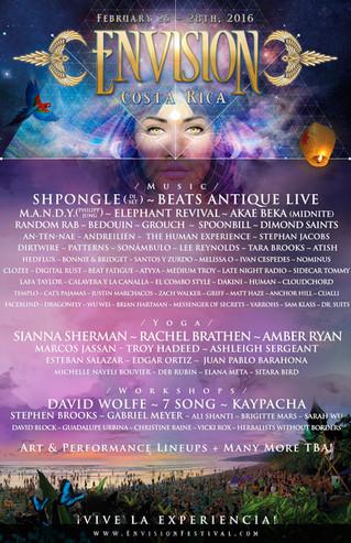 Envision Festival Costa-Rica
