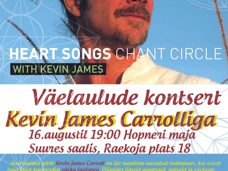 Kevin James Carroll back in Tallinn