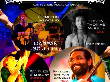 World music in Estonia 2015 Maailmamuusika trubaduurid Katariina Kirikus