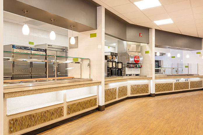 Renovation & Upgrades to 1st Floor Canteen at VAMC West LA