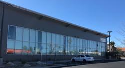 Ridgecrest Service Center, Front View