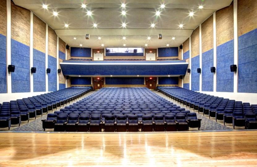 Needham Theater Stage