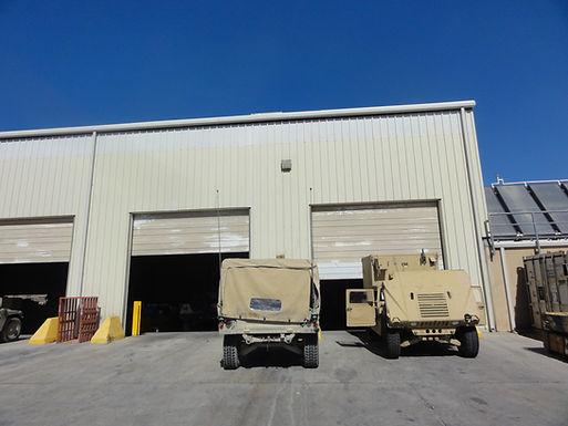Renovations & Repairs, Vehicle Maintenance Facility at Ft. Irwin