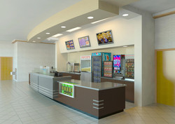 Concessions Stand, Side View