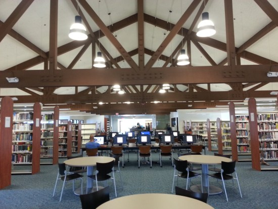 San Clemente Library Interior