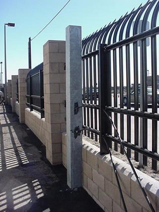 Coronado Fence Interior