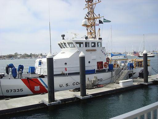 New Landside Office & Crew Bert for US Coast Guard in Corona del Mar