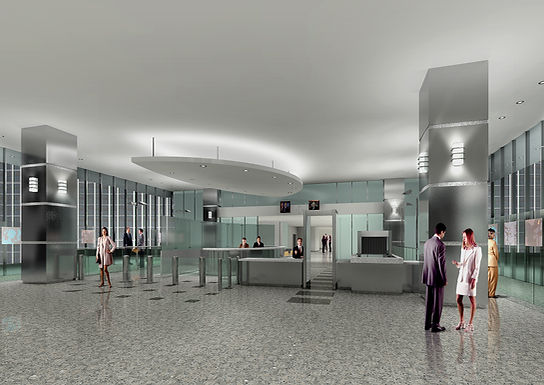 """""""First Impressions"""" Renovations of Lobby at the Los Angeles Federal Building"""