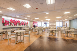 VAMC WLA Canteen Dining Area