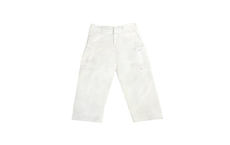 Issey Miyake AW03 Baseball Stitch Cargo Pants