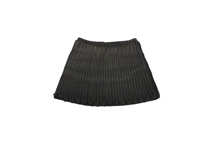 "Acne AW10 Black ""Dali Zip"" Skirt"