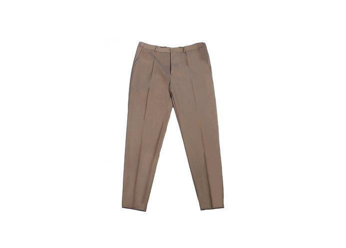 Maison Martin Margiela SS07 Brown Formal Lustre Trousers