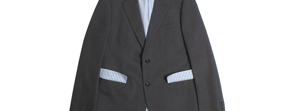 COMME des GARÇONS HOMME AW10 Wool Gabardine Blazer