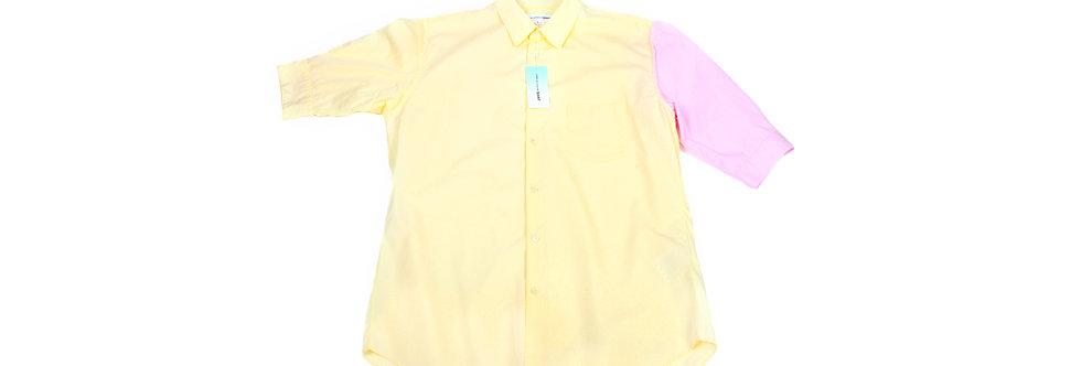 COMME des GARÇONS SHIRT SS18 Patchwork Short Sleeve Shirt