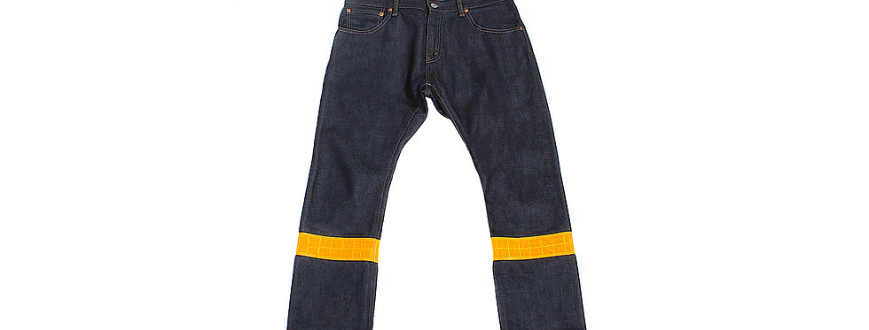 Junya Watanabe MAN AW18 Hi-Vis Stripe Jeans