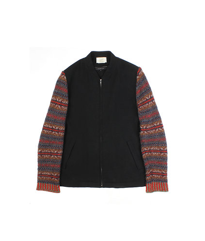 COMME des GARÇONS HOMME PLUS AW96 Knitted Sleeves Bomber