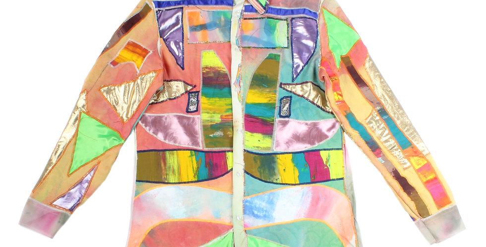 Iordanes Spyridon Gogos Patchwork Shirt