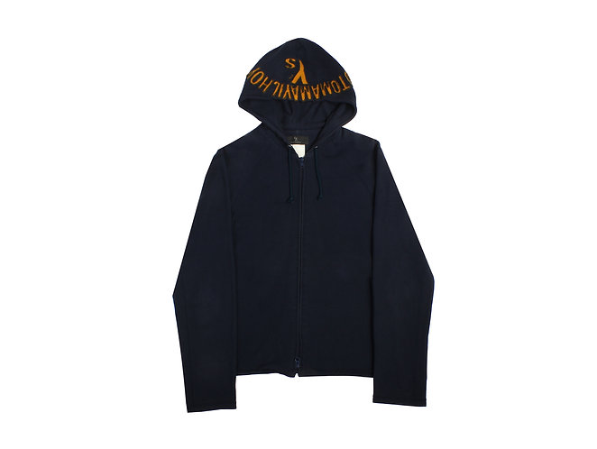 Y's Yohji Yamamoto Logo Zip Hoodie