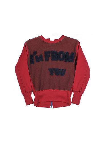 """Yohji Yamamoto AW02 """"I'm From You"""" Varsity Bomber"""