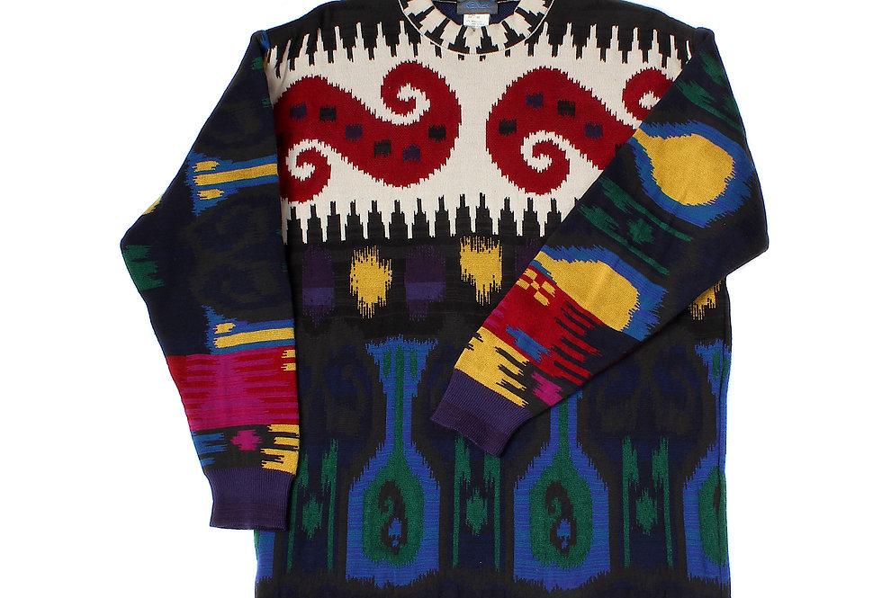 Kenzo Homme Intarsia Knit Sweater