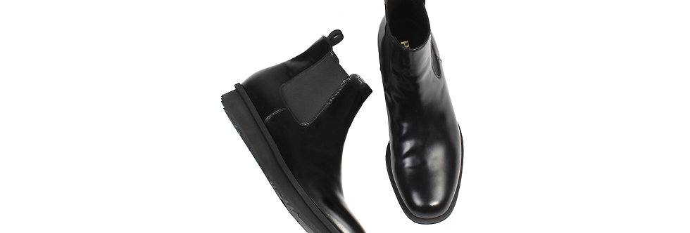 Prada AW15 Sneaker Sole 'Spazzolato' Leather Boots