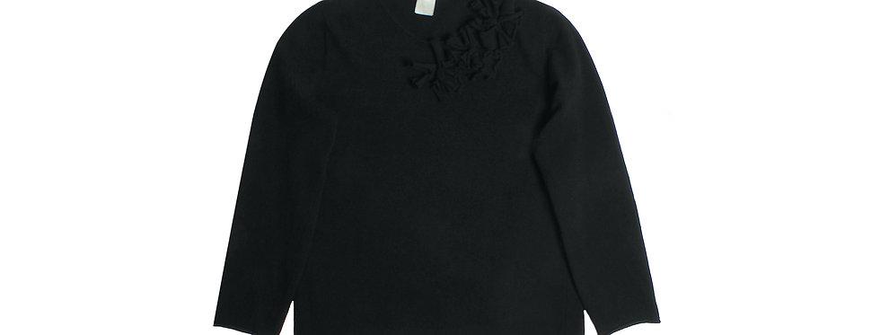 COMME des GARÇONS AW14 3D Embroidered Floral Sweater