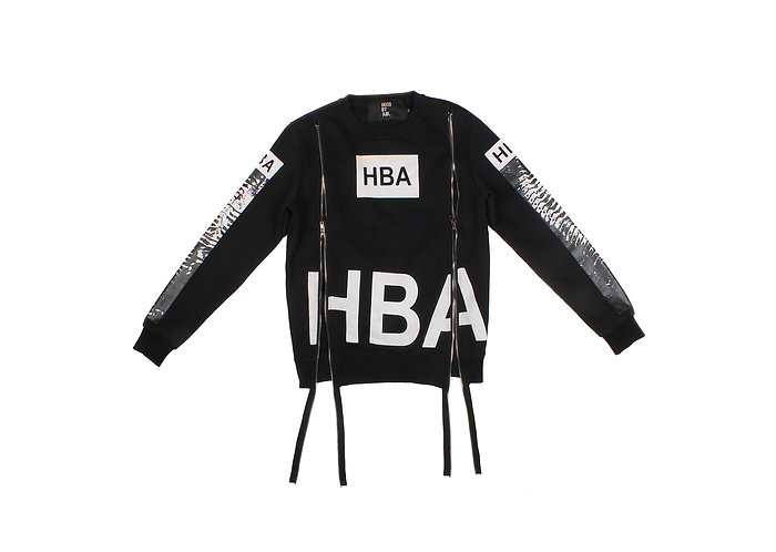 Hood By Air AW13 Dual Zip X-Ray Sweater