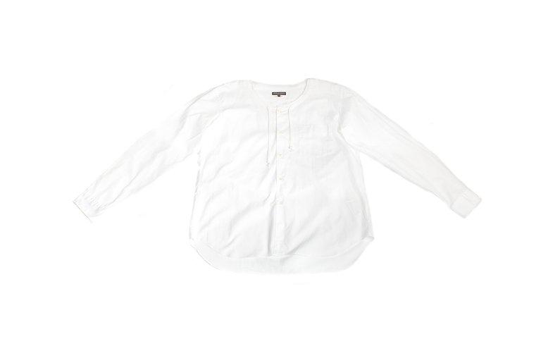 COMME des GARÇONS HOMME PLUS SS17 Drawstring Crewneck Shirt