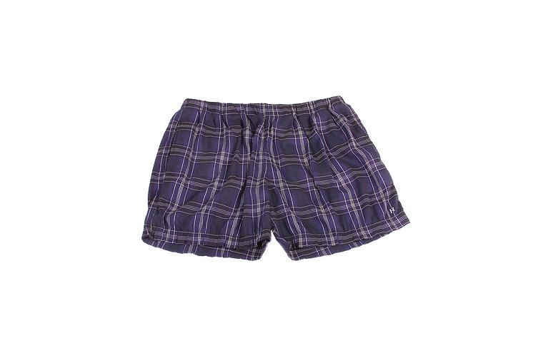 Hermès Purple Plaid Swim Shorts